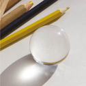 """Die kleine Kugel """"Sei gut behütet für Schüler und Lehrer beim Lernen und Lehren"""" 4cm"""